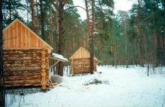 Строительство ретритных домиков