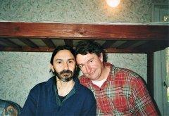 Адриано Клементе и Джим Велби в Северном Кунсангаре, 1999г.