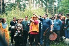 Ретрит с Намкаем Норбу Ринпоче в 2001 г.