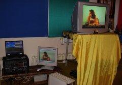 Просмотр трансляции учений в гомпе