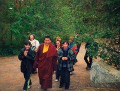 Ретрит с Дзогчен Раньяк Патрулом Ринпоче, 2001г.